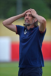 22.07.2015, Meyrin, SUI, Testspiel, AS Monaco vs 1. FSV Mainz 05, im Bild Trainer Martin Schmidt (Mainz) // during a international friendly football match between AS Monaco and 1. FSV Mainz 05 Meyrin, Switzerland on 2015/07/22. EXPA Pictures &copy; 2015, PhotoCredit: EXPA/ Freshfocus/ Urs Lindt<br /> <br /> *****ATTENTION - for AUT, SLO, CRO, SRB, BIH, MAZ only*****