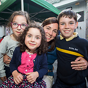 14.06.2018.             <br /> Limerick Food Group hosted the Urban Food Fest street food evening in the Milk Market on Thursday June 14th with a 'Summer Fiesta' theme in one big Limerick city summer party.<br /> <br /> Pictured at the event were, Caoimhe, Brona, Catherine and Cormack Norton. Picture: Alan Place