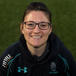 Tracey Balmer of Worcester Valkyries - Mandatory by-line: Robbie Stephenson/JMP - 17/10/2017 - RUGBY - Sixways Stadium - Worcester, England - Worcester Valkyries Headshots