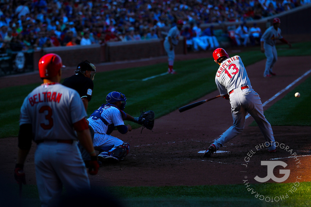 Chicago Cubs vs. St. Louis Cardinals at Wrigley Field, Saturday, Aug. 17, 2013.  | J.Geil Photography