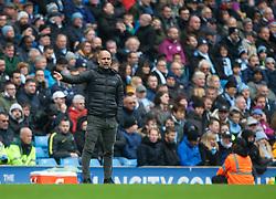 Manchester City manager Pep Guardiola - Mandatory by-line: Jack Phillips/JMP - 26/10/2019 - FOOTBALL - Etihad Stadium - Manchester, England - Manchester City v Aston Villa - English Premier League