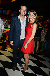 CHARLIE GILKES and ANNEKE VON TROTHA TAYLOR at a party to celebrate the launch of Charlie Gilkes and Duncan Stirling's new nightclub 'Disco' at 13 Kingly Court, London on 26th June 2013.