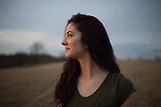 Undergraduate dance major Stephanie Lamoreau. Photo by Ben Wirtz Siegel