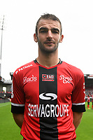 Christophe Kerbrat during photocall of En Avant Guingamp for new season 2017/2018 on September 7, 2017 in Guingamp, France. (Photo by Philippe Le Brech/Icon Sport)