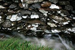IRELAND KERRY DINGLE 3NOV05 - Detail of stone wall at Dunbeg on the Dingle Peninsula, Irelands most westerly county...jre/Photo by Jiri Rezac..© Jiri Rezac 2005..Contact: +44 (0) 7050 110 417.Mobile: +44 (0) 7801 337 683.Office: +44 (0) 20 8968 9635..Email: jiri@jirirezac.com.Web: www.jirirezac.com..© All images Jiri Rezac 2005 - All rights reserved.