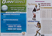 All Ireland Senior Hurling Championship - Final,.11.09.2005, 09.11.2005, 11th Septemeber 2005,.Minor Galway 3-12, Limerick 0-17,.Senior Cork 1-21, Galway 1-16,.11092005AISHCF,.quinn direct,