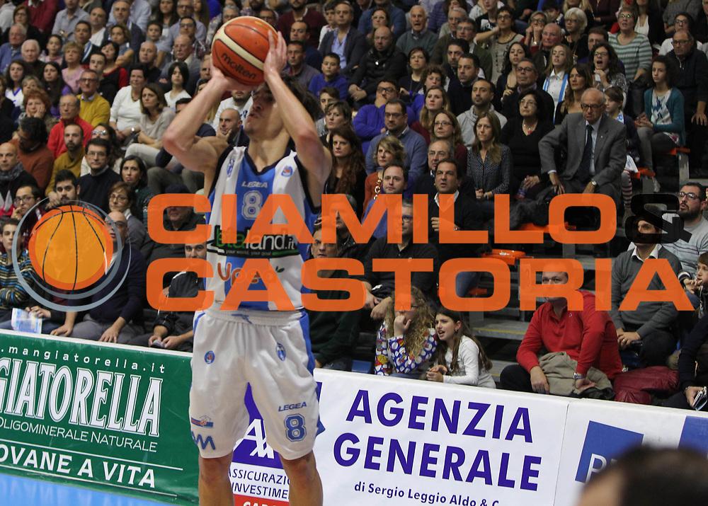 Capo dOrlando 06 Dicembre 2015<br /> BASKET Lega A Beko<br /> Betaland Orlandina Basket - Enel Brindisi<br /> NELLA FOTO Tommaso Laquintana<br /> FOTO CIAMILLO