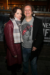 Repro Free: 9/10/2014 Siobhan Hegarty and Stuart Clark pictured at The Odeon, Dublin for the surprise Guinness Amplify Live gig. Music fans in Dublin were treated to an extra special experience as three of most highly acclaimed musicians of 2014, Kidnap Kid, Jess Glynn and Rudimental, played surprise performances. <br /> Guinness Amplify connects the freshest new music talent with audiences all over the country, as well as providing them with some of the resources and industry expertise they need to help them along the way. Picture Andres Poveda<br /> <br /> Full details of the Guinness Amplify programme are available on www.guinnessamplify.com.  Enjoy Guinness Sensibly. Visit www.drinkaware.ie<br /> ENDS<br /> For further information please contact:                                                                              <br /> Julie Blakeney, WH, on 0863420794 or Kristin Fox, WH, on 0872211916