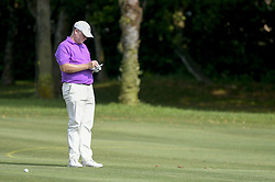 March 22, 2019 - Kuala Lumpur, Malaysia - Marcus Fraser of Australia in action on Day Two of the Maybank Championship at Saujana Golf and Country Club on March 22, 2019 in Kuala Lumpur, Malaysia  (Credit Image: © Chris Jung/NurPhoto via ZUMA Press)