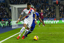 February 23, 2019 - Leicester, England, United Kingdom - Patrick van Aanholt of Crystal Palace under pressure from Ricardo Pereira of Leicester City during the Premier League match between Leicester City and Crystal Palace at the King Power Stadium, Leicester on Saturday 23rd February 2019. (Credit Image: © Mi News/NurPhoto via ZUMA Press)