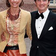 NLD/Apeldoorn/20070901 - Viering 40ste verjaardag Prins Willem Alexander, aankomst Maurits en Marilene