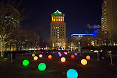 Citygarden Holiday Lights
