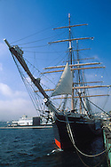 The Star of India (1863), world's oldest active sailing ship, Maritime Museum of San Diego, California