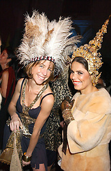 Left to right,        and Fashion designer DANIELLA HELAYEL at Andy & Patti Wong's annual Chinese New Year party, this year celebrating the year of the dog held at The Royal Courts of Justice, The Strand, London WC2 on 28th January 2006.<br />