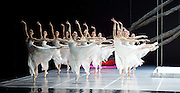 National Ballet of China <br /> The Peony Pavillion <br /> at Sadler's Wells, London, Great Britain <br /> press photocall / rehearsal <br /> 29th November 2016 <br /> <br /> Corps de ballet <br /> <br /> Photograph by Elliott Franks <br /> Image licensed to Elliott Franks Photography Services
