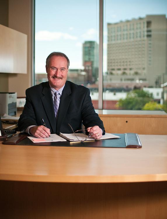 Boise Chamber of Commerce president in office.