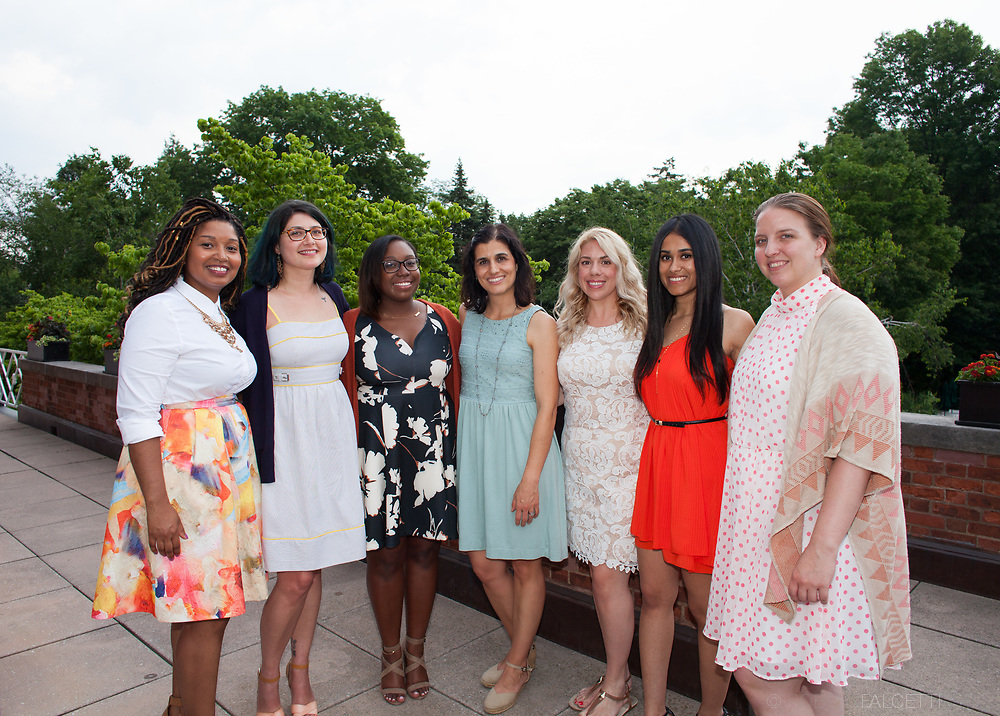 June 13, 2017: Yale School of Medicine Department of Psychiatry Doctoral Internship in Clinical & Community Psychology Commencement.   (photo by Robert Falcetti)