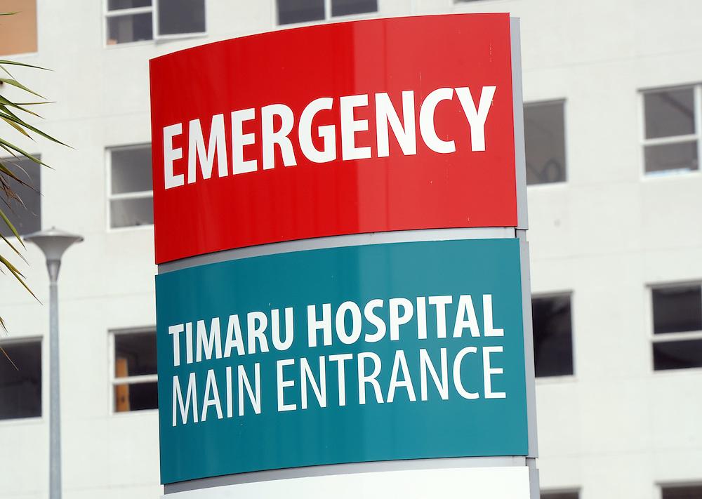 Timaru Hospital, South Canterbury District Health Board, Timaru, New Zealand, Monday, January 26, 2015. Credit:SNPA / Ross Setford