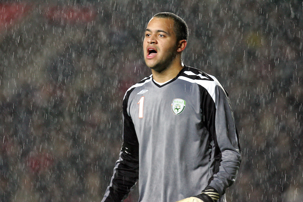 England v Republic of Ireland, Uefa Under-21 Championship Qualifier, Tuesday 5th February 2008, St Marys, Southampton.