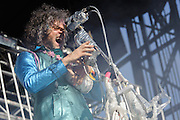 Photos of The Flaming Lips performing live at The Great GoogaMooga Festival kickoff concert at Prospect Park in Brooklyn, NY. May 17, 2013. Copyright © 2013 Matthew Eisman. All Rights Reserved