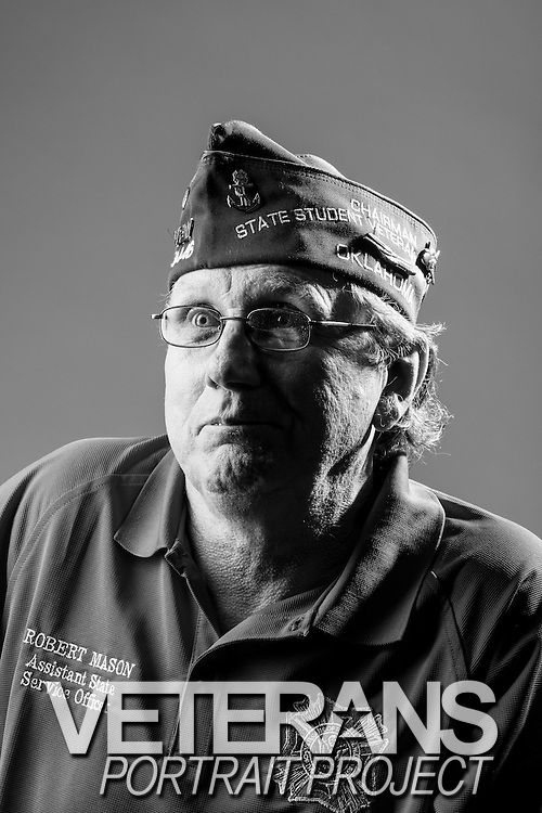 Bob Mason<br /> Air Force<br /> E-6<br /> Aircraft Maintenance<br /> 1973 - 1993<br /> Desert Storm, Desert Shield<br /> Grenada, Somalia<br /> <br /> Veterans Portrait Project<br /> St. Louis, MO