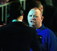 Picture by Richard Gould/Focus Images Ltd +44 7855 403186<br /> 02/11/2013<br /> Former world champion Paul Ingle being interviewed at Hull Ice Arena, Hull.