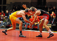 VMI Wrestling wins SoCon dual meet against Davidson, 30-9