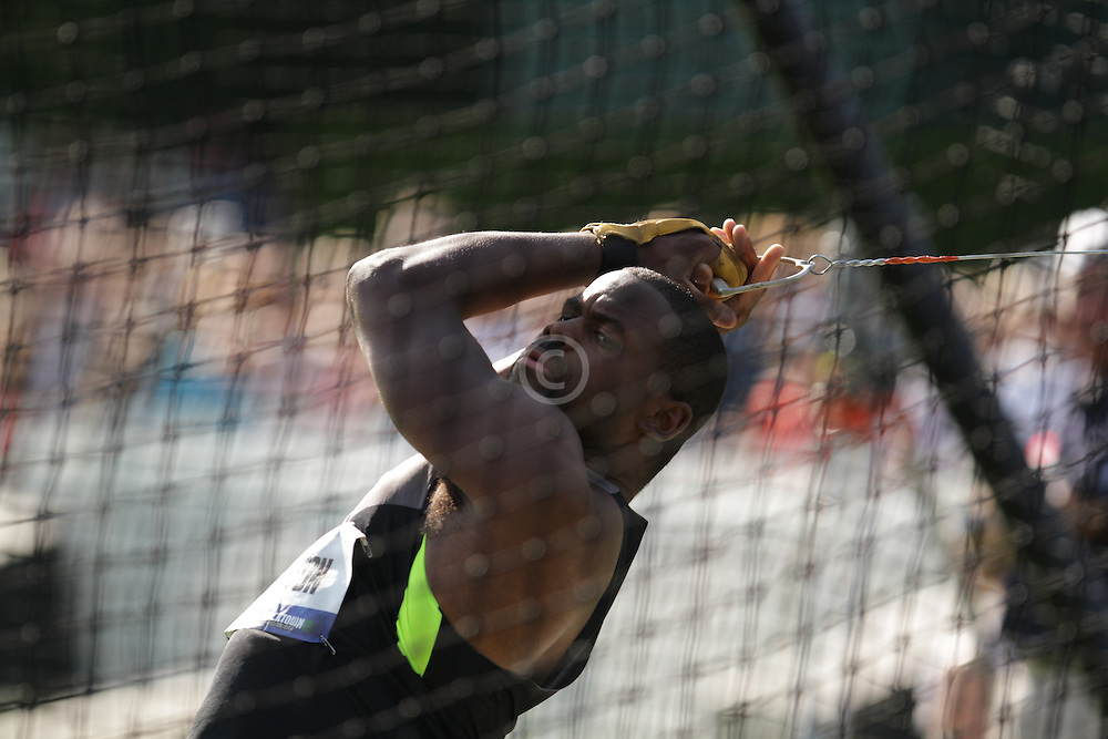 Olympic Trials - Hammer Throw, men Kibwe Johnson