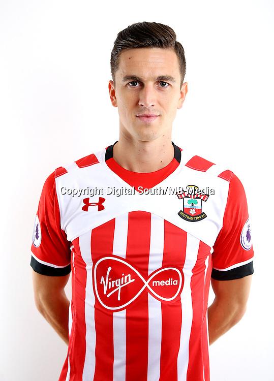 Southampton FC headshots.<br /> Florin Gardos