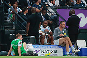 Josevata Taliga Rokocoko (Racing 92) receved a red card and left the game during the French championship Top 14 Rugby Union match between Racing 92 and SU Agen on September 8, 2018 at U Arena in Nanterre, France - Photo Stephane Allaman / ProSportsImages / DPPI