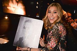 Nicki Shields at an exhibition of photographs by Erica Bergsmeds held at The Den, 100 Wardour Street, London England. 19 January 2017.