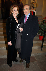 GERALD SCARFE and his wife actress JANE ASHER at Carols from Christmas - a celebration of Christmas held at the Royal Hospital Chapel, Chelsea, London in aid of The Institute of Cancer Research on 5th December 2006.<br /><br />NON EXCLUSIVE - WORLD RIGHTS