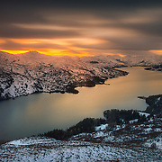 Loch Katrine at last light