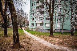Topniška 45, Naj blok v Ljubljani 2017, on March 22, 2017 in Ljubljana, Slovenia. Photo by Vid Ponikvar / Sportida