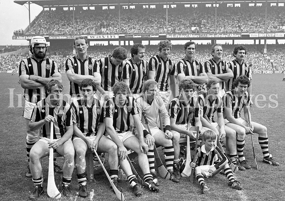 Kilkenny Senior Hurling Team, Croke Park, Dublin, 10/07/1983 (Part of the Independent Newspapers Ireland/NLI Collection).