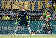 Oscar Hedvall (Silkeborg IF) under kampen i 3F Superligaen mellem Brøndby IF og Silkeborg IF den 14. juli 2019 på Brøndby Stadion (Foto: Claus Birch)