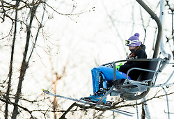 """Maze Tina (SLO) during FIS Alpine Ski World Cup 2014/15 5th Ladies' Slalom race named """"Snow Queen Trophy 2015"""", on January 4, 2015 in Course Crveni Spust at Sljeme hill, Zagreb, Croatia.  Photo by Vid Ponikvar / Sportida"""