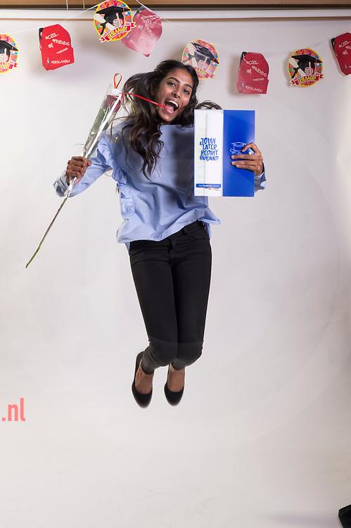 Nederland, Enschede 05juli2017 Diploma uitreiking Stedelijk Lyseum / Kottenpark