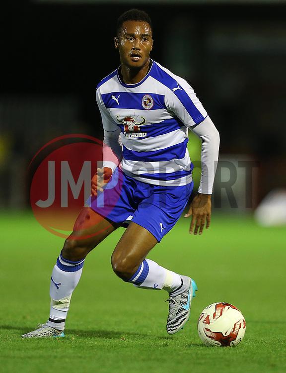 Jordon Obita of Reading - Mandatory by-line: Paul Terry/JMP - 07966386802 - 27/07/2015 - SPORT - FOOTBALL - Crawley,England - Broadfield Stadium - Crawley Town v Reading - Pre-Season Friendly