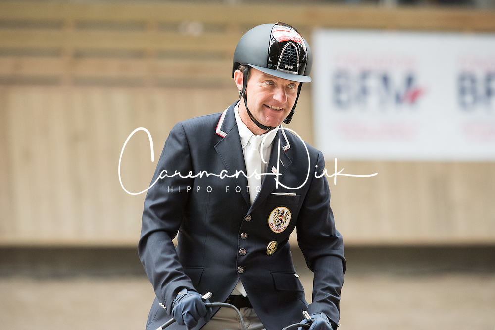 Puch Pepo, (AUT), Fine Feeling S<br /> Grade Ib Team Test<br /> Para-Dressage FEI European Championships Deauville 2015<br /> © Hippo Foto - Jon Stroud<br /> 18/09/15