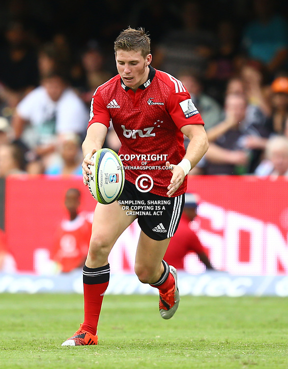 DURBAN, SOUTH AFRICA - APRIL 04: Colin Slade of the Crusaders during the Super Rugby match between Cell C Sharks and Crusaders at Growthpoint Kings Park on April 04, 2015 in Durban, South Africa. (Photo by Steve Haag/Gallo Images)