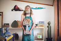 coromandel peninsula artist pottery studio kuaotunu photography by felicity jean photography men not mining calendar shoot