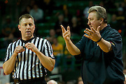 WACO, TX - JANUARY 28: West Virginia Mountaineers head coach Bob Huggins has words with an official against the Baylor Bears on January 28, 2014 at the Ferrell Center in Waco, Texas.  (Photo by Cooper Neill/Getty Images) *** Local Caption *** Bob Huggins