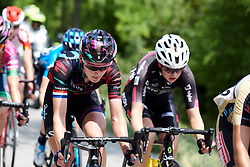 Hannah Barnes (GBR) in the break during Stage 9 of 2019 Giro Rosa Iccrea, a 125.5 km road race from Gemona to Chiusaforte, Italy on July 13, 2019. Photo by Sean Robinson/velofocus.com