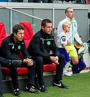 17/09/15 UEFA EUROPA LEAGUE GROUP STAGE<br /> AJAX v CELTIC<br /> AMSTERDAM ARENA - HOLLAND<br /> Celtic manager Ronny Deila before kick-off