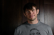 LONDON, ENGLAND, MARCH 5, 2014: Forrest Griffin poses for a portrait inside One Embankment in London, England (Martin McNeil for ESPN)