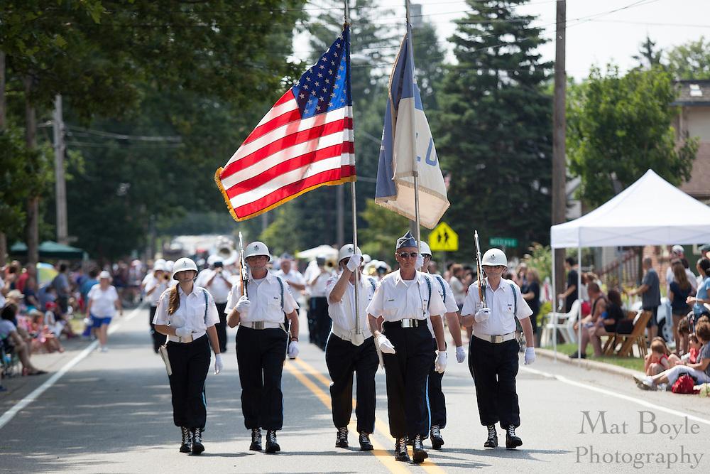 Bonsal Blues: Pitman 4th of July Parade down Broadway in Pitman NJ on Wednesday July 4, 2012. (photo / Mat Boyle)