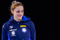 12-01-2019 NED: ISU European Short Track Championships 2019 day 2, Dordrecht<br /> Silver medal Martina Valcepina #10 ITA on the 500 m