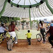 Children Park è un'area di gioco e scoperta dedicata ai bambini. Il progetto prevede un percorso di esperienze, attività e situazioni stimolanti, ma si presenta anche come luogo di relax e sosta<br /> World Expo 2015 Milano 5/05/2015