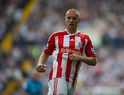 WEST BROMWICH, ENGLAND - Sunday, August 28, 2011: Stoke City's Andy Wilkinson in action against West Bromwich Albion during the Premiership match at the Hawthorns. (Pic by David Rawcliffe/Propaganda)